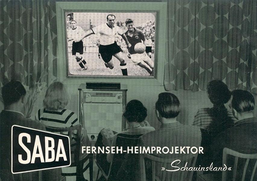 Fernseh-Heimprojektor
