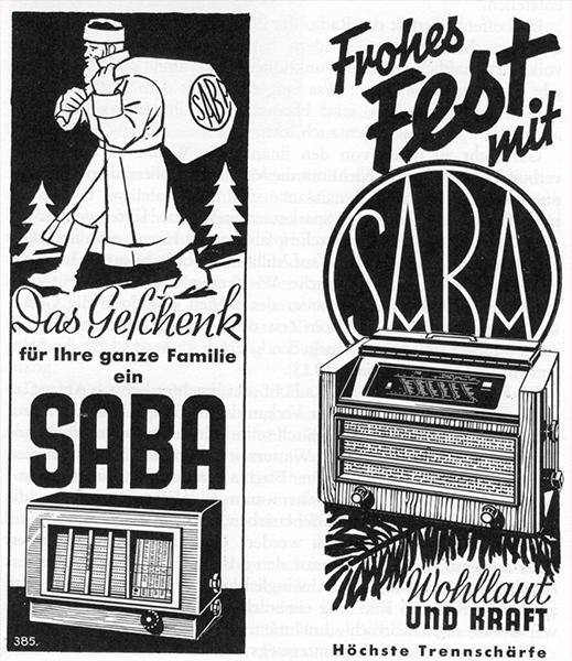 Frohes Fest mit Saba !
