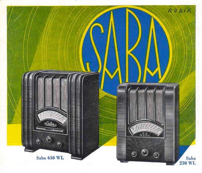 Saba Radios 630WL/230 WL