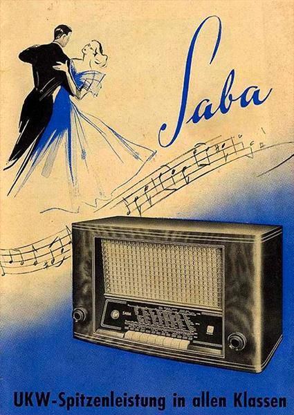 Saba Radio Model Weersburg