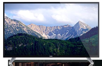 005b69daacfee TV 4K UHD SABA SV55UHD18BS